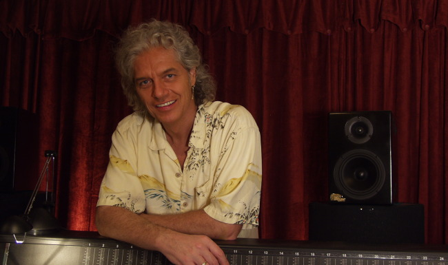 Phil in his Studio in Florida in 2009