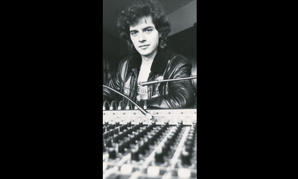 Phil in his Studio early Eighties