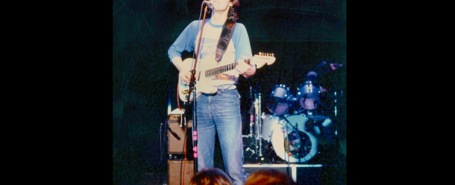 Phil in the early eighties somewhere out there
